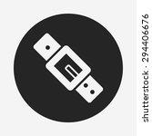 strap icon | Shutterstock .eps vector #294406676