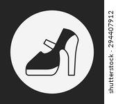 shoes icon | Shutterstock .eps vector #294407912