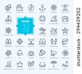 outline web icon set   journey  ... | Shutterstock .eps vector #294439202