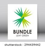 bundle leaf green nature...