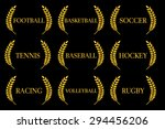 sports laurels 2 | Shutterstock . vector #294456206
