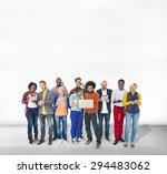 diverse ethnic business... | Shutterstock . vector #294483062