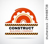 building logo  construction... | Shutterstock .eps vector #294488738