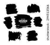 grunge black background  vector | Shutterstock .eps vector #294513566