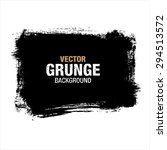 grunge black background  vector | Shutterstock .eps vector #294513572