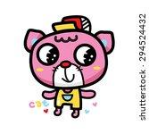cat cartoons character cartoon | Shutterstock .eps vector #294524432