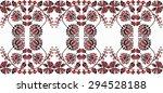 beautiful hungarian folk art... | Shutterstock .eps vector #294528188
