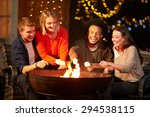 group of friends toasting... | Shutterstock . vector #294538115