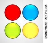 web buttons set | Shutterstock .eps vector #294541655