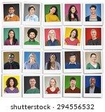People Diversity Faces Human...