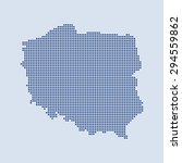 map of poland   Shutterstock .eps vector #294559862