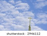 blue cloud filled sky with a... | Shutterstock . vector #2946112