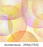 abstract color pencil scribbles ... | Shutterstock . vector #294617522