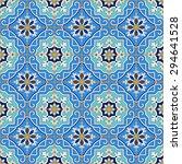 gorgeous seamless patchwork... | Shutterstock .eps vector #294641528