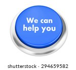 we can help you button on... | Shutterstock . vector #294659582