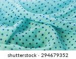 Turquoise Background Fabric...