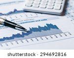 financial accounting analysis | Shutterstock . vector #294692816