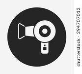 hair dryer icon | Shutterstock .eps vector #294707012