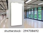 one big vertical   portrait... | Shutterstock . vector #294708692