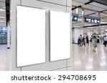 two big vertical   portrait... | Shutterstock . vector #294708695