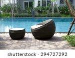 Outdoor Furniture Rattan Chair...