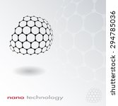 abstract nano structure vector... | Shutterstock .eps vector #294785036