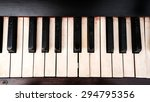 Piano Keyboard  See Black And...