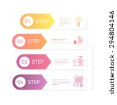 business charts for various... | Shutterstock .eps vector #294804146