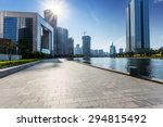 modern building exterior with... | Shutterstock . vector #294815492