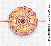 beautiful floral design... | Shutterstock .eps vector #294819722