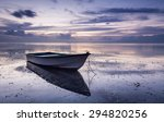 Waterscape At Dusk With Boats...