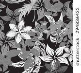 floral seamless pattern  ... | Shutterstock .eps vector #294836432