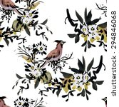 watercolor seamless pattern... | Shutterstock . vector #294846068
