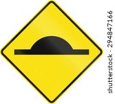 Warning Road Sign In Australia...