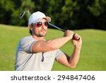 Portrain Of Man In Sunglasses...