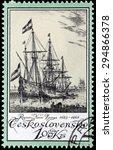 czechoslovakia   circa may ... | Shutterstock . vector #294866378