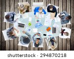 meeting communication planning... | Shutterstock . vector #294870218