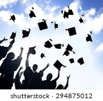 celebration education... | Shutterstock . vector #294875012