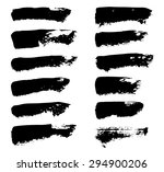 set of grunge vector textured... | Shutterstock .eps vector #294900206