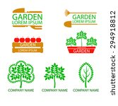 A Set Of Logos  Emblems On The...