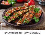 Baked Eggplant With Tomatoes ...