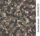 seamless tan woodland classic... | Shutterstock .eps vector #294963272