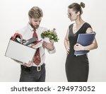 Female Boss Dismissing An...