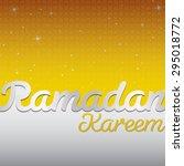 ramadan kareem  generous...   Shutterstock .eps vector #295018772