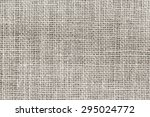 natural sackcloth texture or... | Shutterstock . vector #295024772