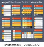 set of infographic templates... | Shutterstock .eps vector #295032272