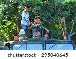 chumphon  thailand   january 14 ... | Shutterstock . vector #295040645