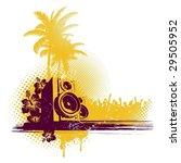 tropical sound | Shutterstock .eps vector #29505952