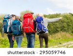 adventure  travel  tourism ...   Shutterstock . vector #295059746