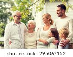 family  happiness  generation ... | Shutterstock . vector #295062152